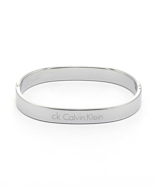 CK Calvin Klein  經典LOGO極簡時尚手環飾品(KJ06CB0101)