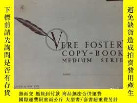 二手書博民逛書店VERE罕見FOSTER S COPY-BOOKS 2、5、7、