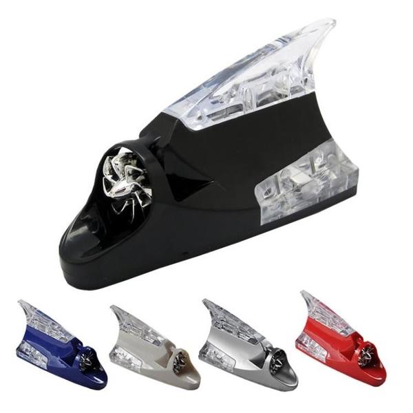自行車燈 車載電動摩托車裝飾用品日行燈風能燈風力發電日間風吹行車燈超亮【樂淘淘】