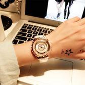 寶利亞手錶女時尚潮流女錶皮帶防水錶學生氣質韓版水鑽石英錶igo 衣櫥の秘密