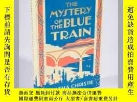 二手書博民逛書店阿加莎克裏斯蒂:罕見藍色列車之謎英文原版 The Mystery of the Blue Train Agatha
