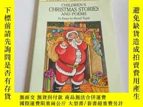 二手書博民逛書店CHILDREN S罕見CHRISTMAS STORIES AN