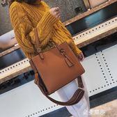 2018新款大容量女包包大氣托特包單肩斜背手提包百搭時尚休閒潮女 金曼麗莎