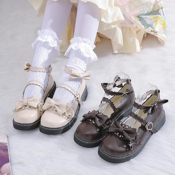 娃娃鞋 梅露露lolita鞋原創正版jk洛麗塔鞋子蘿莉小皮鞋女日系軟妹 - 風尚3C