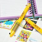 迪士尼筆 玩具總動員彈簧狗 全身 雙色筆 原子筆 多色筆 油性筆 圓珠筆 COCOS JP150
