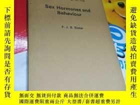二手書博民逛書店Sex罕見Hormones and Behaviour(性激素與