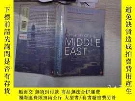 二手書博民逛書店A罕見HISTORY OF THE MIDDLE EAST Second Editiong 中東史第二版(33)奇