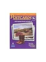 二手書博民逛書店《Postcards 2/e (3A) with Language Booster and CD/1片》 R2Y ISBN:9780132409759