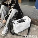 健身包旅行包包女短途出差旅游包游泳健身包獨立鞋位男女學生行李包潮包 迷你屋 618狂歡