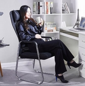 辦公椅 家用舒適弓形會議辦公室座椅網布椅簡約電腦椅子靠背椅 rj2417【bad boy時尚】