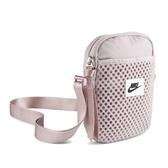 Nike 斜背包 Air Small Items Bag 粉紫 黑 男女款 運動休閒 【ACS】 CU2611-516