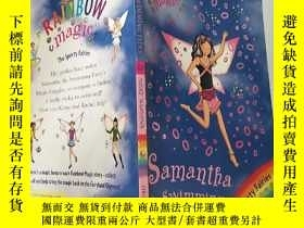 二手書博民逛書店rainbow罕見magic Samantha the swimming fairy 彩虹魔術遊泳仙女薩.曼 莎.
