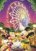 【日本進口拼圖】迪士尼 DISNEY-米奇米妮摩天輪 108片 D-108-960