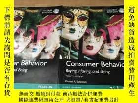二手書博民逛書店Consumer罕見Behavior Buying Having And Being Global Edition