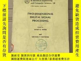二手書博民逛書店two-dimensional罕見digital signal processing(P2320)Y17341