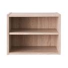 空櫃 收納【收納屋】艾莉絲二格櫃-原木色&DIY組合傢俱