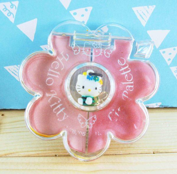 【震撼精品百貨】Hello Kitty 凱蒂貓~2色口紅盤組-綠KT