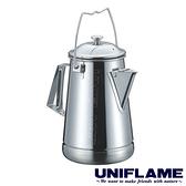 【日本UNIFLAME】不鏽鋼茶壺1.6公升 CAMP KETTLE U660287 居家 露營 戶外