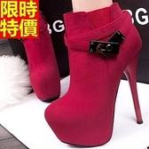 短靴 高跟女靴子-灑脫個性精品流行休閒6款66c46【巴黎精品】