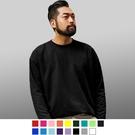 【男人幫】T5244*長袖15色素面T恤純棉,黑/白/黃/寶藍/丈青/水藍/草綠/果綠