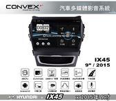 ||MyRack|| CONVOX IX45 MK2 安卓機 汽車多媒體影音 HYUNDAYI 2015年9吋 導航