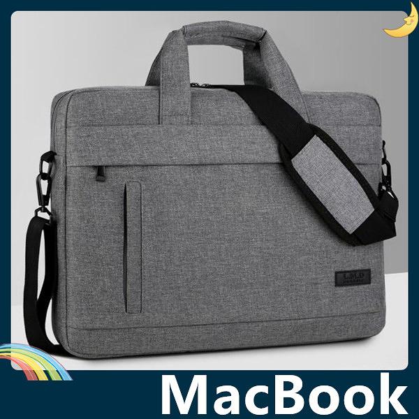 MacBook Air/Pro/Retina 青春布紋保護套 蕾曼德 耐磨防撞 可側/斜背 筆電包 電腦包 手拿包 支援全機型