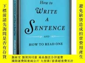 二手書博民逛書店如何寫一個句子罕見英文原版 How to Write a Sen