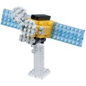 【日本 Kawada 河田】Nanoblock 迷你積木 太陽觀測衛星 NBC-199