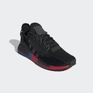 ISNEAKERS ADIDAS Original NMD_R1 V2 三葉草 男女款 黑色 休閒鞋 FV9023