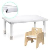 台灣 ilovekids 愛兒館 我的第一張小桌子+椅子+紙捲架
