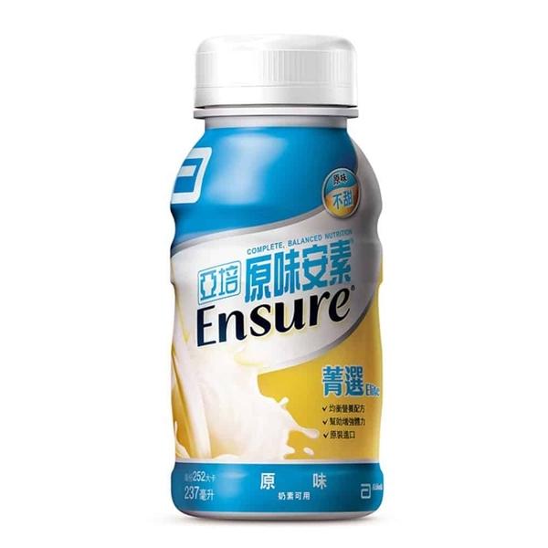 亞培 安素菁選 原味 237mlX24入/箱◆德瑞健康家◆