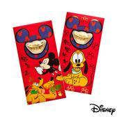 Disney迪士尼系列金飾-黃金元寶紅包袋-福氣旺來+高飛來富款
