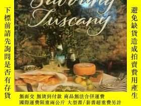 二手書博民逛書店托斯卡納豔陽下的美食與生活罕見大型畫冊 Savoring Tus
