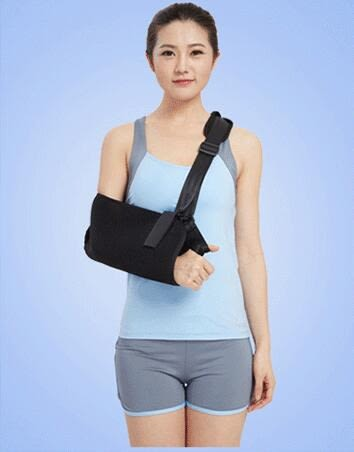 手臂骨折吊帶  固定護具 【藍星居家】