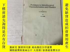 二手書博民逛書店Problems罕見in Metallurgical Therm