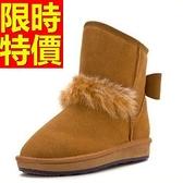 中筒雪靴-厚底潮流頭層牛皮女靴子4色62p62【巴黎精品】