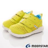 日本月星Moonstar機能童鞋Carrot可機洗系列寬楦玩耍速乾鞋款1277黃(寶寶段)