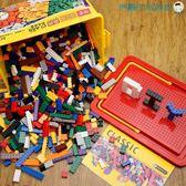 兒童玩具積木立體拼圖套餐1000塊【洛麗的雜貨鋪】