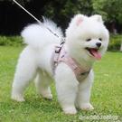 寵物牽引繩 狗狗牽引繩背心式泰迪博美狗鏈子小型犬幼犬遛狗繩比熊寵物胸背帶 星河光年