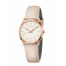 Calvin Klein CK極簡質感皮帶腕錶(K8Q336X2)32mm
