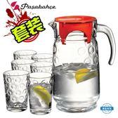 冷水壺土耳其具套裝家用創意玻璃杯水壺7件套茶杯涼水壺水杯整套