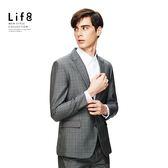 Life8-Formal 千鳥織格紋 修身西裝外套【11167】