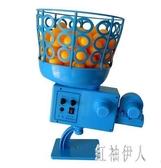 自動擺頭可充電自編程乒乓球發球機便攜式家用搖控定點發球器訓練 aj8626『紅袖伊人』