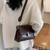 秋冬復古小包包女包2020新款潮時尚百搭ins斜背包/側背包網紅單肩腋下包