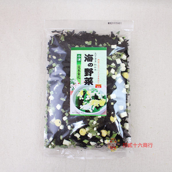 台灣料理千浦海帶芽(波菜蛋花)100g【0216零食團購】4713790000117