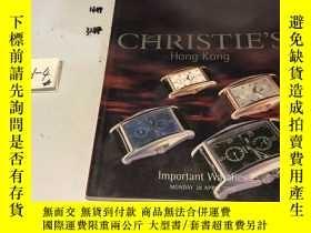 二手書博民逛書店Christie s罕見Hong Kong Important