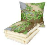 旅行青蛙抱枕被子二合一手辦游戲動漫周邊毛絨雙面圖生日禮物DSHY 年尾牙提前購