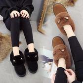 店長推薦奧雅達冬季雪地靴女短靴平底短筒靴子防水加厚加絨保暖棉靴棉鞋潮