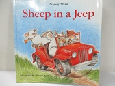 【書寶二手書T6/原文小說_J2S】Sheep in a Jeep_Shaw, Nancy E./ Apple, Margot (ILT)