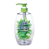 白蘭植萃洗碗精綠茶薄荷1kg 【愛買】